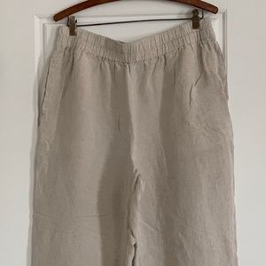 Madewell Tall Tapered Huston Pull-On Crop Pants